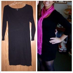 Black Express sweater dress